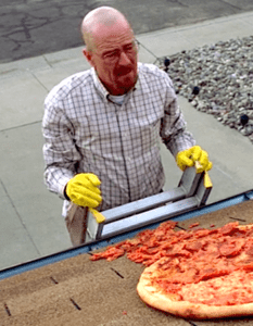 La pizza de Breaking Bad